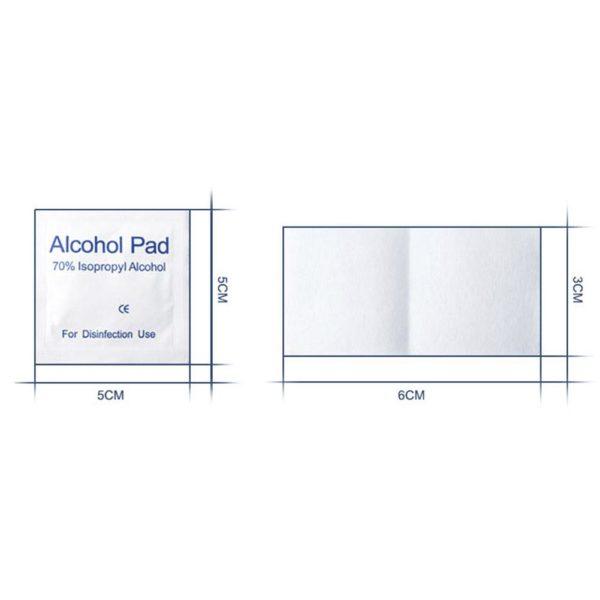 Lingettes jetables Lingettes portables douces et humides sans alcool pour t l phone Portable Film d